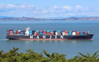 Hanjin Shipping rumbo a la quiebra amenaza el riesgo de parada de muchas empresas